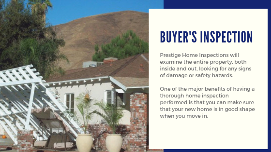 Buyers Inspection Prestige Home Inspections