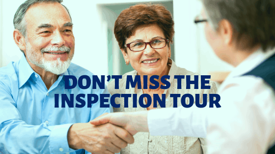 don't miss the inspection tour
